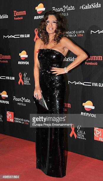 Ivonne Reyes attends Gala Against Aids on November 23 2015 in Barcelona Spain