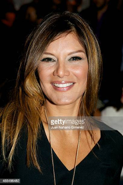 Ivonne Reyes attends Mercedes Benz Fashion Week Madrid at Ifema on September 15 2014 in Madrid Spain