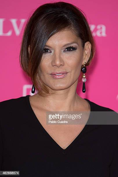 Ivonne Reyes attends Telva Beauty Awards at Palace hotel on February 2 2015 in Madrid Spain