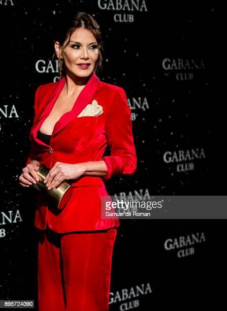 Ivonne Reyes attends the Gabana Christmas season party on December 19 2017 in Madrid Spain