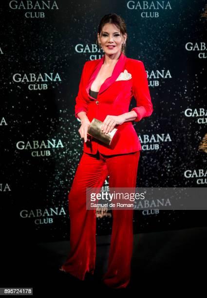 Ivonne Reyes attends the Gabana Christmas season party on December 19, 2017 in Madrid, Spain.