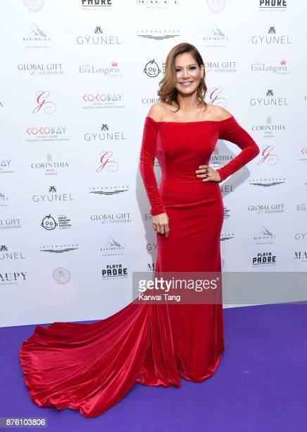 Ivonne Reyes attends The Global Gift gala held at the Corinthia Hotel on November 18 2017 in London England