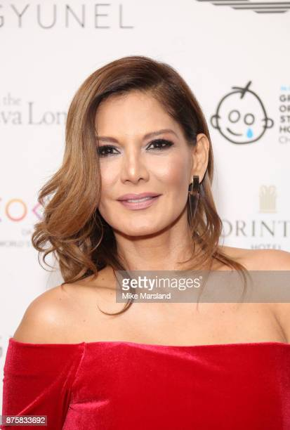 Ivonne Reyes attends The Global Gift Gala London held at Corinthia Hotel London on November 18 2017 in London England