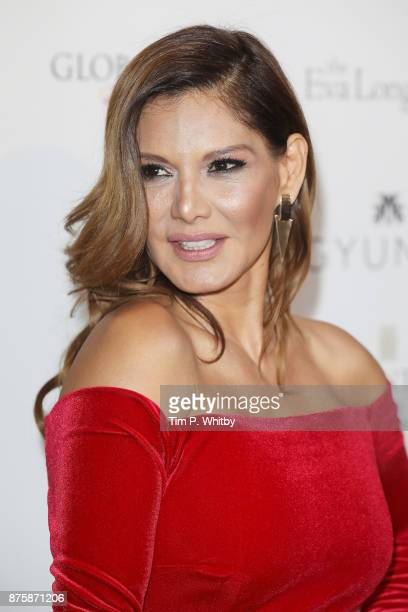 Ivonne Reyes attends The Global Gift Gala London held at Corinthia Hotel London on November 18, 2017 in London, England.