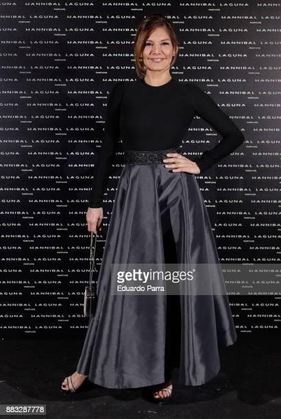 Ivonne Reyes attends the Hannibal Laguna 30th anniversary Gala Dinner at the Santo Mauro hotel on November 30 2017 in Madrid Spain