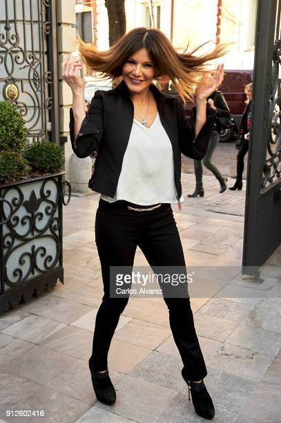 Ivonne Reyes attends 'The Petite Special Day' at the Santo Mauro Hotel on January 31, 2018 in Madrid, Spain.