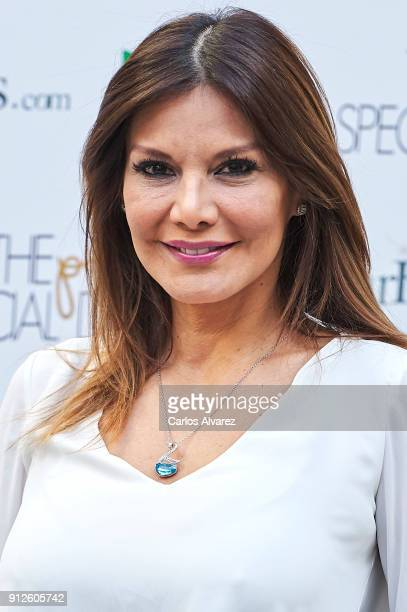 Ivonne Reyes attends 'The Petite Special Day' at the Santo Mauro Hotel on January 31 2018 in Madrid Spain