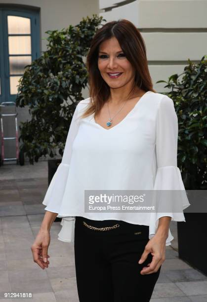 Ivonne Reyes attends 'The Petite Special Day' fashion show at the Santo Mauro Hotel on January 31 2018 in Madrid Spain