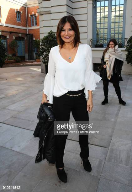 Ivonne Reyes attends 'The Petite Special Day' fashion show at the Santo Mauro Hotel on January 31, 2018 in Madrid, Spain.