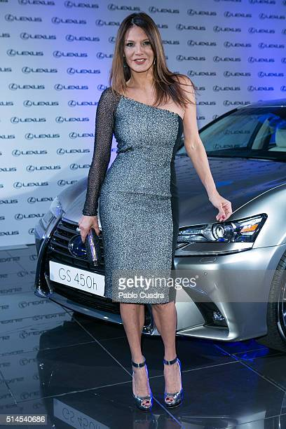 Ivonne Reyes attends the presentation of Bertin Osborne as new ambassador of Lexus on March 9 2016 in Madrid Spain