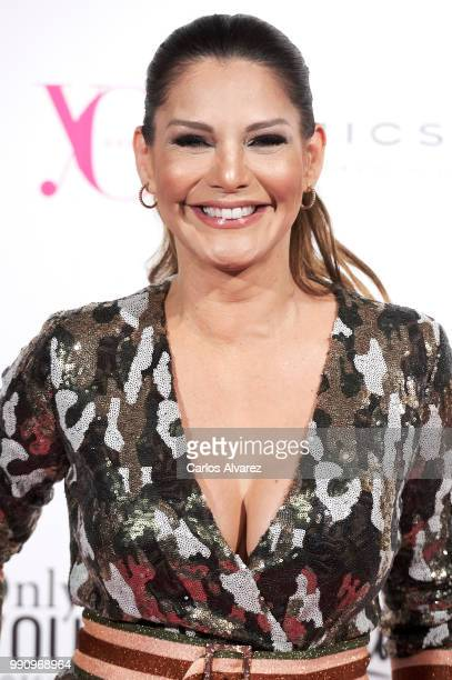 Ivonne Reyes attends the 'Yo Dona' party at Only You Hotel Atocha on July 3, 2018 in Madrid, Spain.