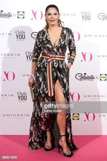 Ivonne Reyes attends the 'Yo Dona' party at Only You Hotel Atocha on July 3 2018 in Madrid Spain