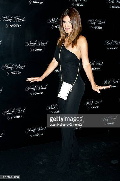 Ivonne Reyes attends to the inauguration of the 'Punk Bach Terrace' at Punk Bach on June 17 2015 in Madrid Spain