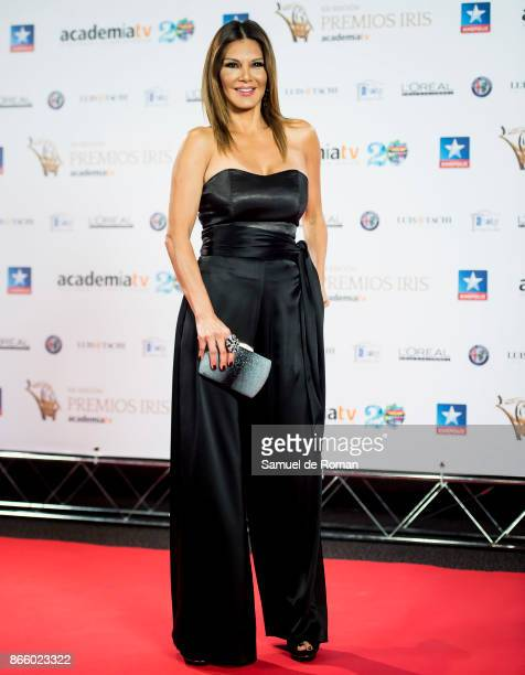 Ivonne Reyes during Iris Awards 2017 on October 24 2017 in Madrid Spain