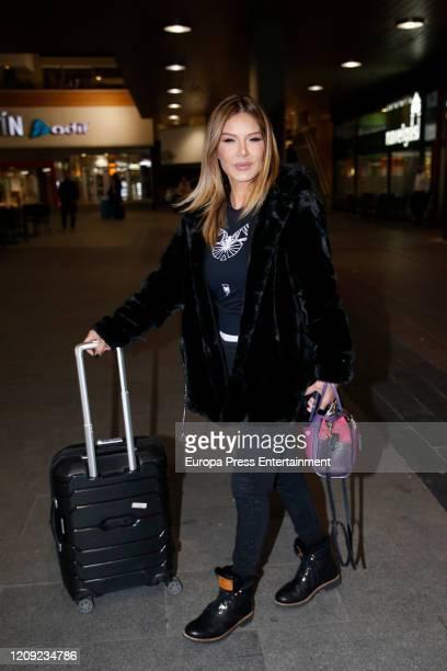 Ivonne Reyes is seen on February 27, 2020 in Madrid, Spain.