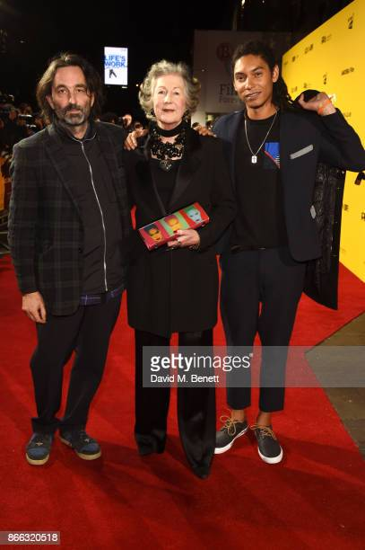 Ivor Guest guest and Paulo Goude attend the UK Premiere of Grace Jones Bloodlight And Bami at the BFI Southbank on October 25 2017 in London England