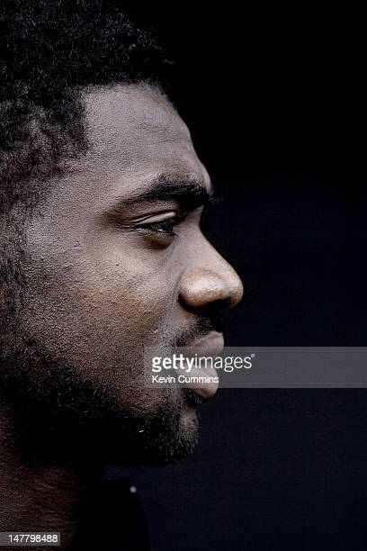 Ivorian footballer Kolo Toure of Manchester City FC Manchester 25th April 2012