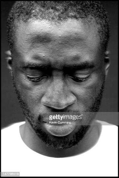 Ivorian footballer Yaya Toure of Manchester City FC Manchester 23rd April 2012
