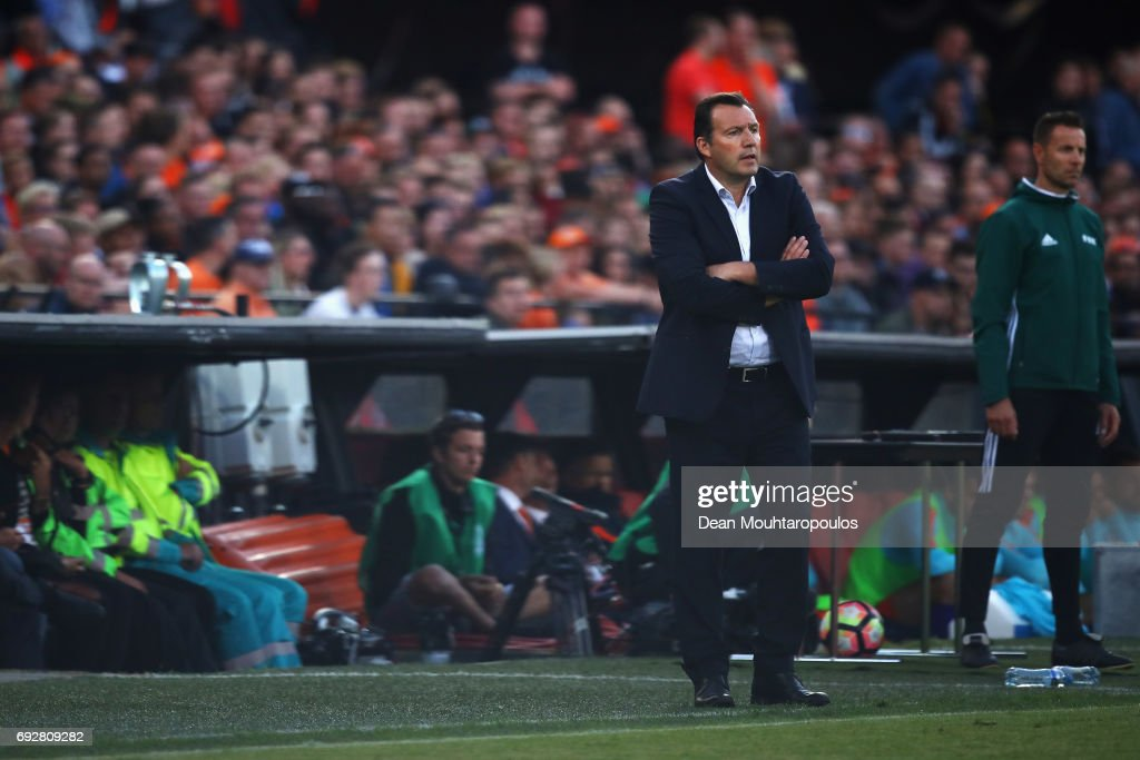 Netherlands v Ivory Coast - International Friendly : News Photo
