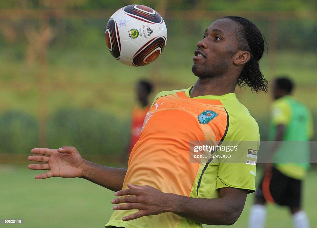 Ivory Coast National football team capta : News Photo