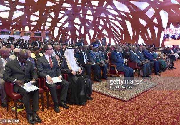 Ivory Coast President, Alassane Ouattara chairs the opening of the 44th meeting of the Ministers of Foreign Affairs of the Organisation of Islamic...