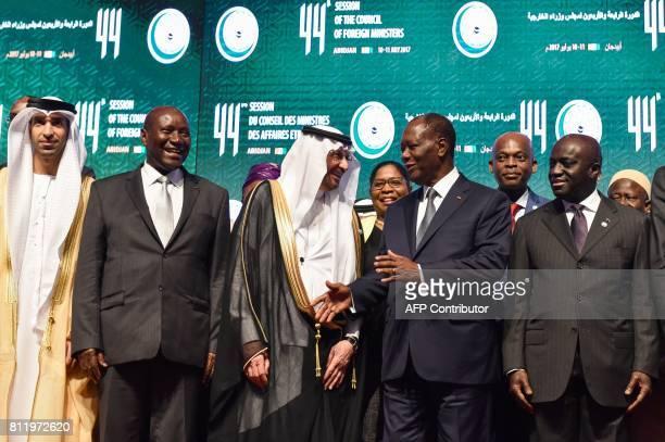 Ivory Coast Vice-President, Daniel Kablan Duncan , Secretary-General of the Organisation of Islamic Cooperation , Yousef bin Ahmad al-Othaimeen ,...