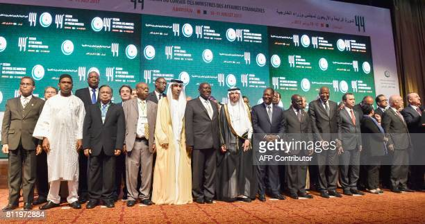 Ivory Coast Vice-President, Daniel Kablan Duncan, Secretary-General of the Organisation of Islamic Cooperation , Yousef bin Ahmad al-Othaimeen ,...