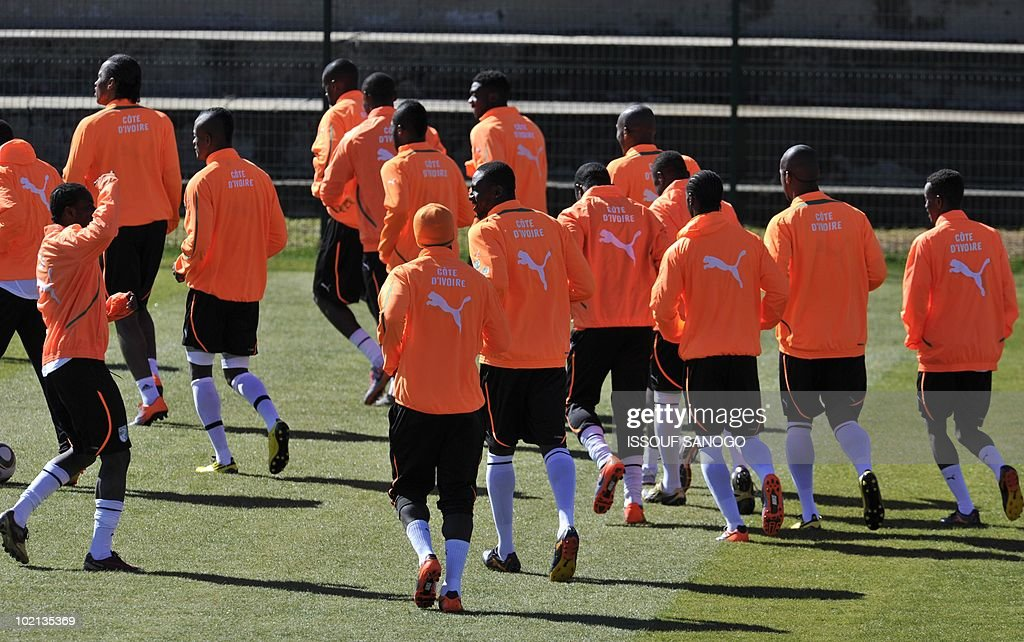 Ivory Coast's national football team pla