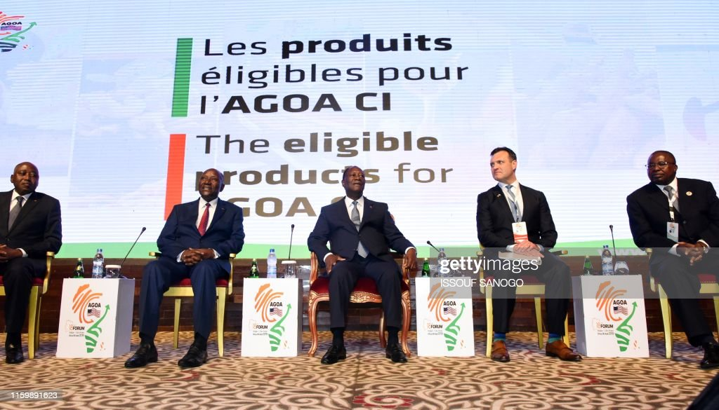 ICOAST-AFRICA-US-TRADE-AGOA : News Photo
