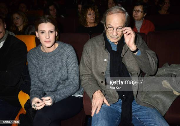 'Ivresse' clip comedian Juliette Dol and actor Patrick Chesnais from 'Ferdinand' Anti Alcohol Associationattend the 'Ivresse' Guillaume Canet's Short...