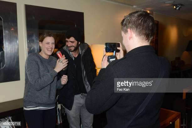 'Ivresse' clip comedians Juliette Dol and Sebastien Magne attend the 'Ivresse' Guillaume Canet's Short Movie Against Alcohol Premiere hosted by...