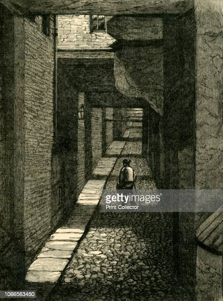 Ivy Bridge Lane', . Street off the Strand in Westminster, London, named after a former ivy-covered bridge that crossed an old watercourse nearby....