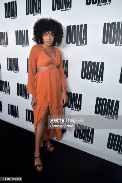 Ivy Coco attends UOMA Beauty Launch Event at NeueHouse Hollywood on April 25 2019 in Los Angeles California
