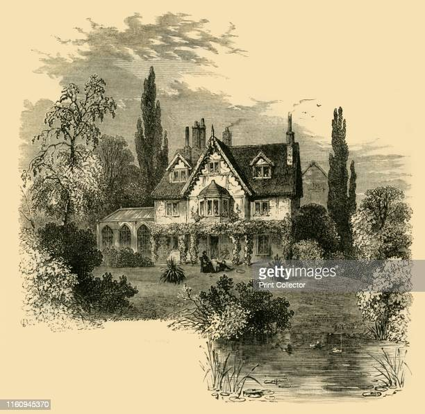Ivy Cottage Highgate 1825' Grade II listed cottage on Highgate hill residence of Charles Mathews From Old and New London A Narrative of Its History...