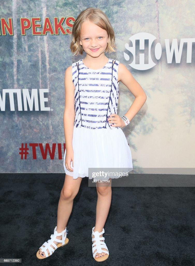 Ivy George attends the premiere of Showtime's 'Twin Peaks' at The Theatre at Ace Hotel on May 19, 2017 in Los Angeles, California.