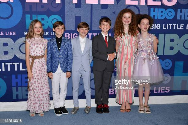 Ivy George Cameron Crovetti Nicholas Crovetti Iain Armitage Darby Camp and Chloe Coleman attend the Big Little Lies Season 2 Premiere at Jazz at...