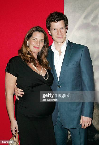 Ivy Mabius and Eric Mabius attend the premiere of Miracle at St Anna at Ziegfeld Theatre on September 22 2008 in New York City