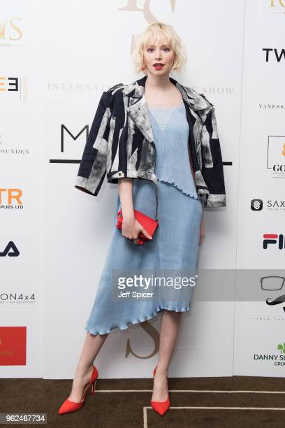 Ivy Mae attends the inaugural International Fashion Show at Rosewood Hotel on May 25 2018 in London England