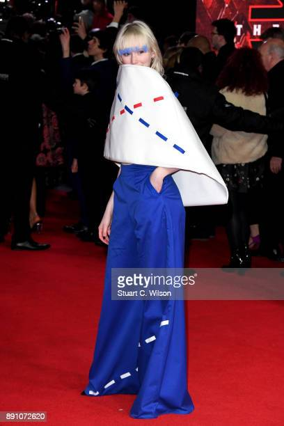 Ivy May attends the European Premiere of 'Star Wars The Last Jedi' at Royal Albert Hall on December 12 2017 in London England