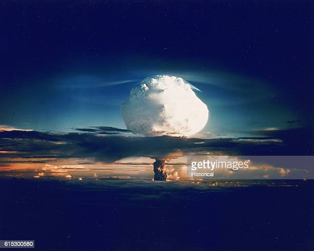 Ivy Mike was the first true hydrogen bomb tested by the United States This 104 megaton explosion obliterated Elugelab the island it was detonated on...