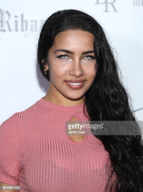 Ivy Natalia attends the Launch Of FENTY PUMA By Rihanna A/W 2017 Collection at Madison Beverly Hills on September 27, 2017 in Beverly Hills,...