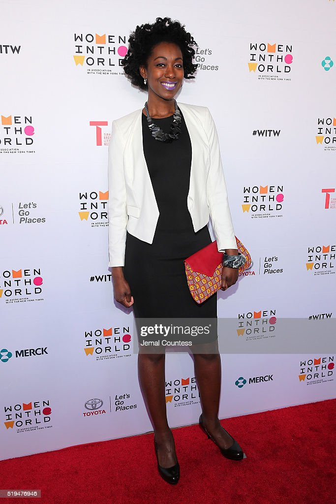 Ivy Prosper attends Tina Brown's 7th Annual Women In The World Summit Opening Night at David H. Koch Theater at Lincoln Center on April 6, 2016 in New York City.