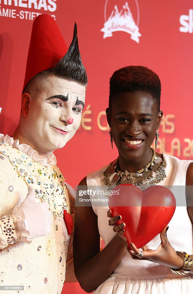 Ivy Quainoo attends the 19th Annual Jose Carreras Gala at Europapark on December 19, 2013 in Rust, Germany.