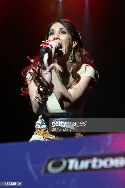 Ivy Queen appearing at the MEGA 979 Reggaeton concert at Madison Square Garden November 24 2005 in New York City