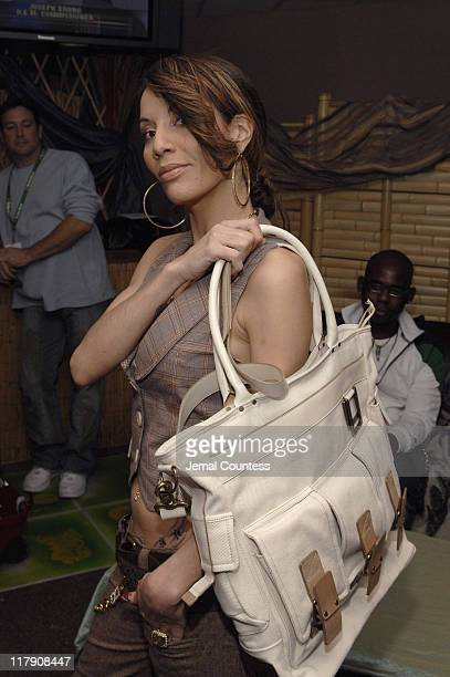 Ivy Queen at the Latino Royalty Gift Station during The 7th Annual Latin GRAMMY Awards Backstage Lounge by Distinctive Assets Day 2 at Madison Square...