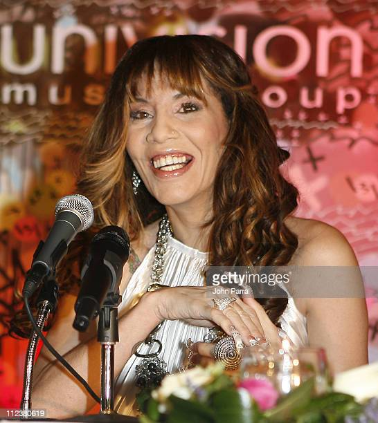 Ivy Queen during Reggaeton Artist Ivy Queen Announces Exclusive Contract with Univision Music Group at Press Conference January 12 2007 at Sofitel...
