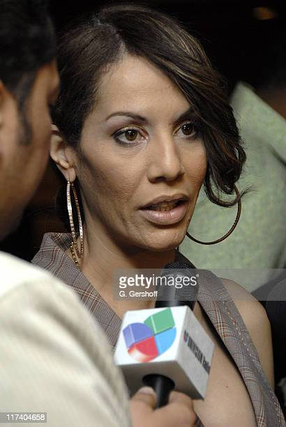 Ivy Queen during The 7th Annual Latin GRAMMY Awards - Univision Radio Remotes - Day 2 at Madison Square Garden in New York, New York, United States.