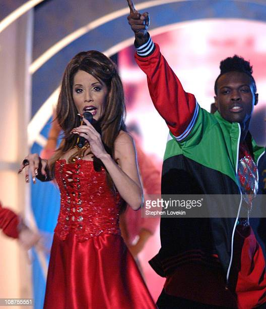 """Ivy Queen performs """"Pam Pam""""/""""Noche de Entierro"""" during The 7th Annual Latin GRAMMY Awards - Show at Madison Square Garden in New York City, New..."""