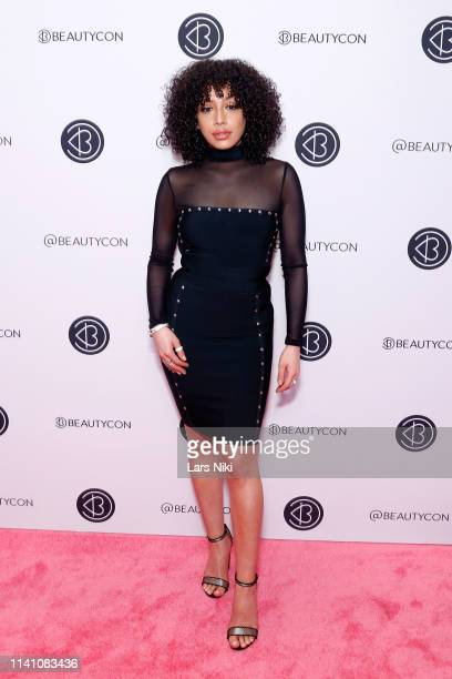 Ivy Rivera attends Beautycon Festival New York 2019 at Jacob Javits Center on April 07 2019 in New York City