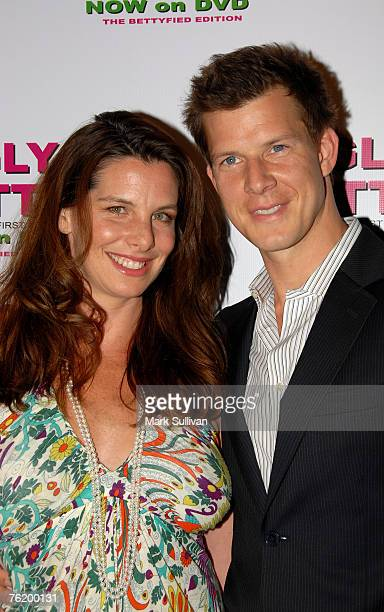 Ivy Sherman and actor Eric Mabius arrive at the Ugly Betty The Complete First SeasonThe Bettyfied Edition DVD launch held on August 20 2007 in West...